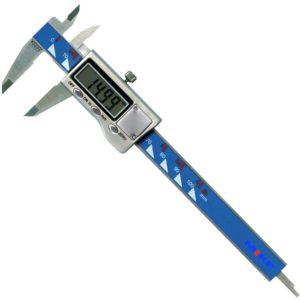 Thước cặp điện tử 100 mm, ±0.01mm, vỏ và nút nhấn bằng thép. Vogel Germany.