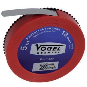 455015 Thước cuộn lá thép đo khe hở 0.15mm, chiều dài 5m. Vogel Germany