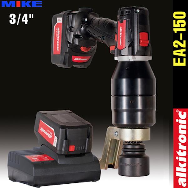 Bộ nhân lực dùng pin EA2-150, 2 cấp tốc độ, momen 150-1400N.m. Alkitronic Germany.
