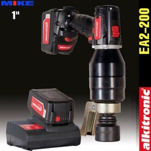 Bộ nhân lực dùng pin EA2-200, 2 cấp tốc độ, momen 250-2200N.m. Alkitronic Germany.