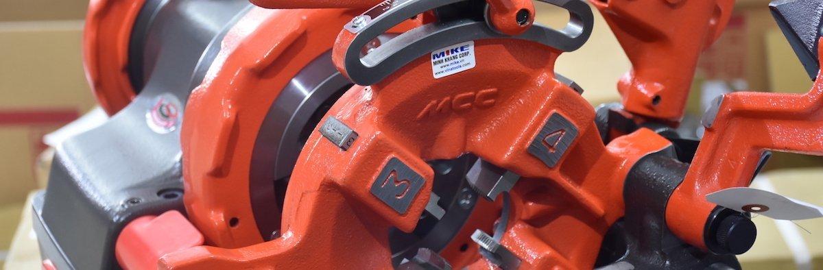 Máy tiện ren ống MCC Japan - Máy tiện ren bu lông