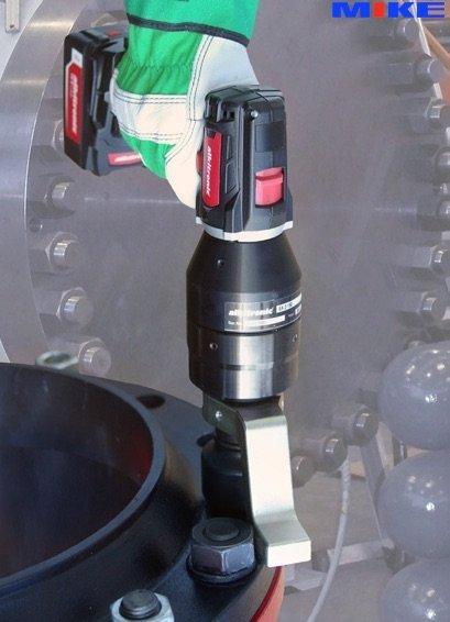 Bộ nhân lực dùng pin EA2-80, 2 cấp tốc độ, momen 115-860N.m. Alkitronic