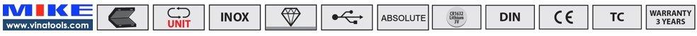 các tính năng cơ bản của loại thước cặp điện tử Vogel Germany
