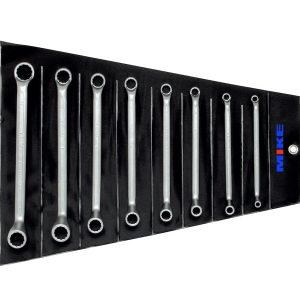 110S8MSB bộ cờ lê 6-22mm, hai đầu vòng 8 chi tiết tiêu chuẩn DIN 838