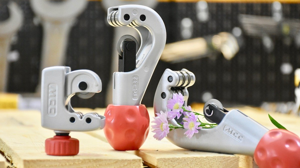 Dao cắt ống đồng, ống thép TC Series, sản xuất tại Nhật Bản.