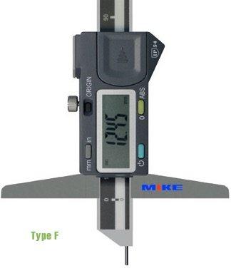 Thước đo sâu điện tử 300mm type F, Digital Depth Calipers. Vogel Germany