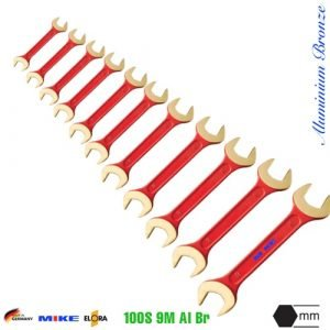 Non-sparking-tools-open-ended-spanner-elora-100S 9M Al Br