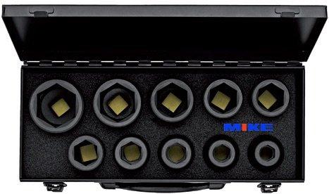"""Bộ tuýp đen 10pcs từ 17 đến 41mm. Impact socket, đầu vuông 3/4"""". ELORA Germany. Giao hàng toàn quốc. Bảo hành 12 tháng. Chứng chỉ CO&CQ đầy đủ."""