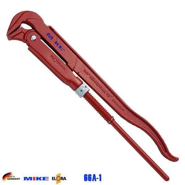 Mỏ lết ống 340mm ngàm 90 độ ELORA 66A-1. Độ mở ngàm 40mm. Pipe Wrench.