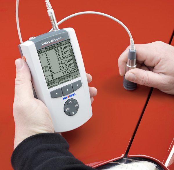máy siêu âm đo độ dày lớp phủ đa lớp