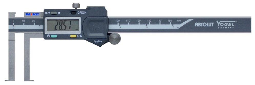 Thước cặp điện tử đo trong 20-150 mm. Digital Caliper for Inside Groove. cấp IP54.