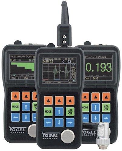 Ultrasonic ECHO-ECHO Thickness Gauge. Máy đo độ dày vật liệu bằng siêu âm, cảm biến rời.