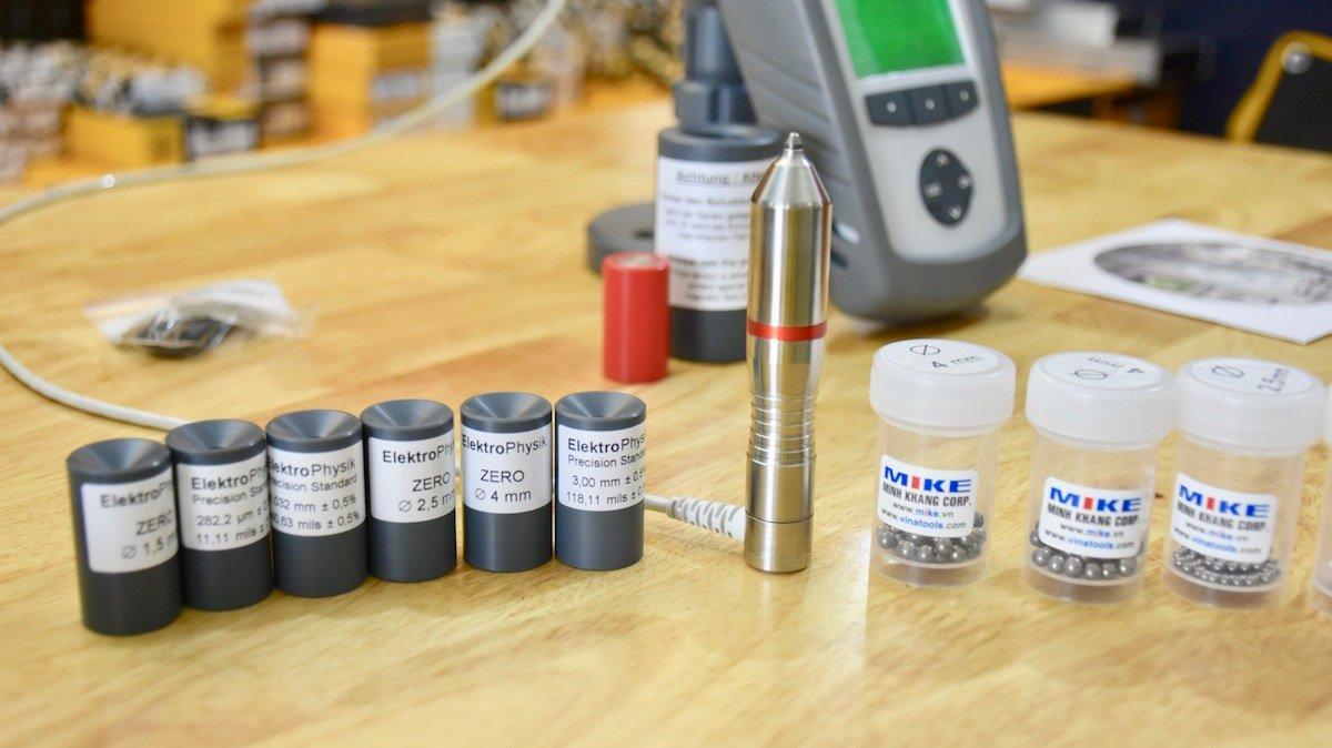 bi từ đủ các size tiêu chuẩn, thông dụng. Electrophysik