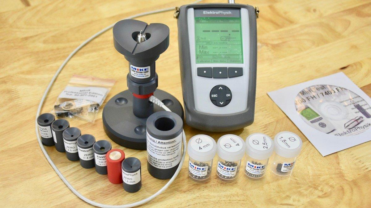 Máy đo thành chai PET Minitest 7200 FH