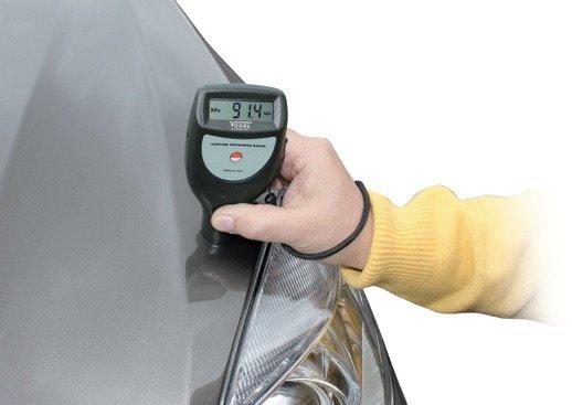 Máy đo độ dày sơn ứng dụng trong ngành sản xuất ô tô