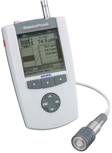 Máy đo độ dày lớp phủ QuintSonic 7 sử dụng sóngsiêu âm -ElektroPhysik Germany.