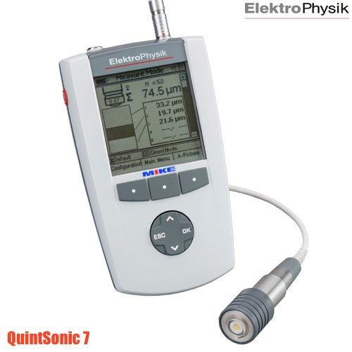 Máy siêu âm đo độ dày lớp phủ QuintSonic 7. Ultrasonic coating thickness gauge