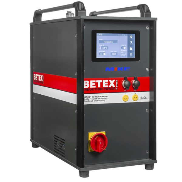 BETEX MF QUICK HEATERS 22kW. V3.0, MIDDLE FREQUENCY TECHNOLOGY