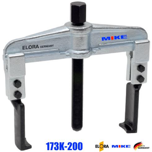 Cảo 2 chấu mở ngàm 60-200mm, cảo ngoài vòng bi, 6,5 tấn. Elora