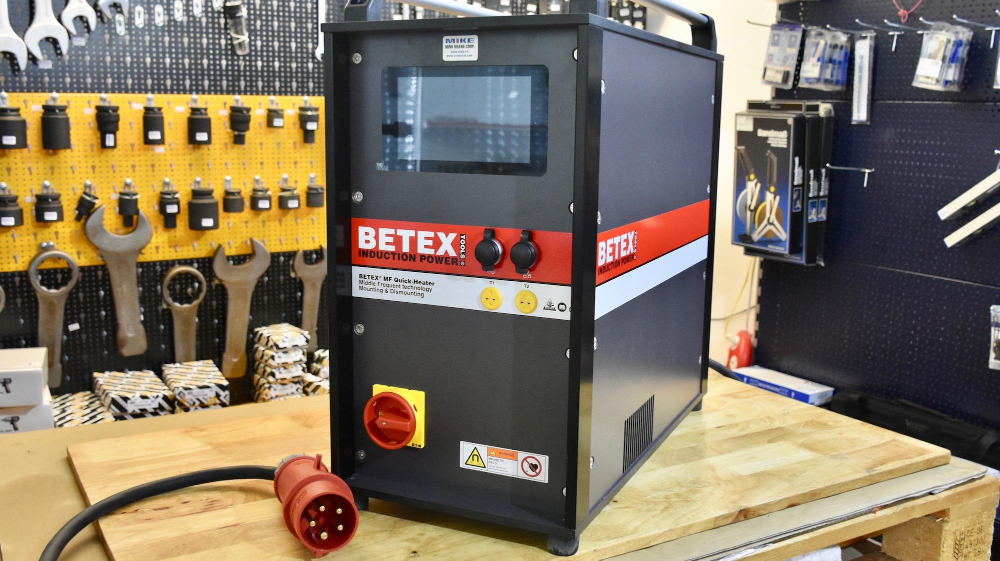 Máy gia nhiệt trung tần thế hệ 3, 22kW, MF Quick Heater.