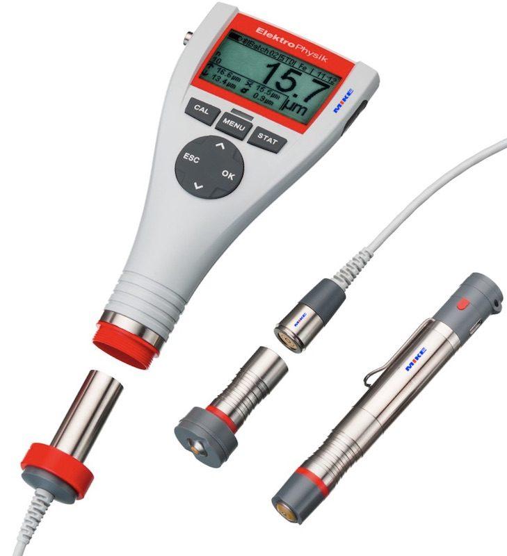 máy đo độ dày lớp phủ minitest