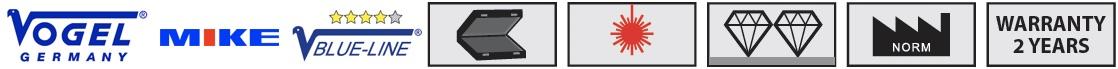 Các biểu tượng tính năng. Digital Counter External Micrometer. Vogel Germany