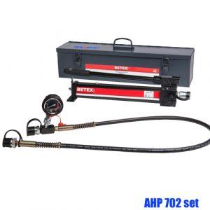 Bộ bơm thủy lực bằng tay BETEX AHP702, 1000ml, 700 bar, full set.