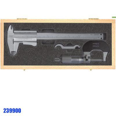 239900 bộ thước cặp cơ và panme cơ