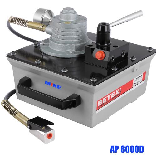 Bơm thủy lực BETEX AP8000D dẫn động bằng khí nén. Air Hydraulic Pump. 700 bar.