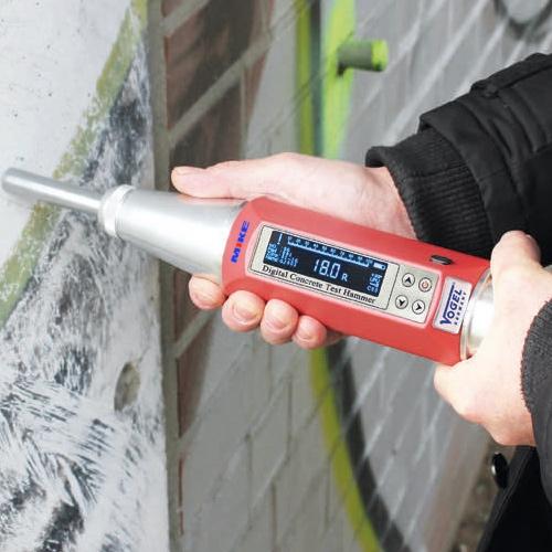 Búa thử độ cứng bê tông cầm tay – Impact Concrete Testing Hammer. Vogel Germany