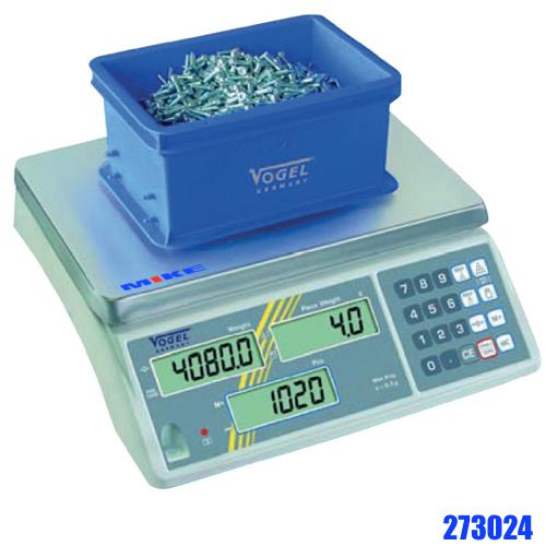 Cân đếm điện tử 15kg, cân đếm sản phẩm. Digital Industrial Counting Scale. Vogel Germany 273024.