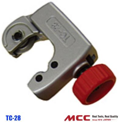 Dao cắt ống đồng TC-028, ống inox đường kính 28mm. Tubing Cutter MCC Japan. Kéo cắt ống đồng, ống inox. Dụng cụ cắt ống đồng, ống inox.