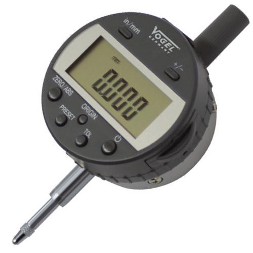 Đồng hồ so điện tử 12.7mm ±0.01, cấp bảo vệ chống nước IP65. Absolute.