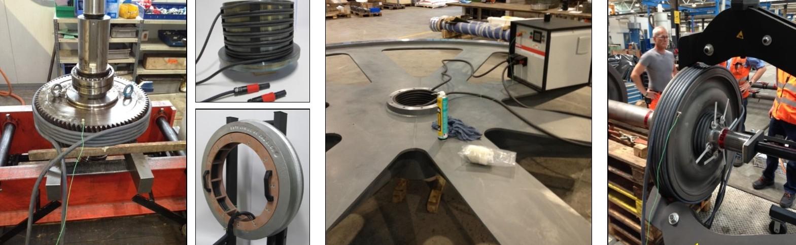 Máy gia nhiệt trung tần 44kW. MF Quick Heater. Các ứng dụng.