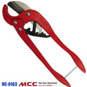 Dao cắt ống nhựa VC-0163, kéo cắt ống nhựa PVC. Kiểu cổ điển. MCC Japan.