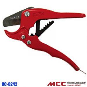 Dao cắt ống nhựa VC-0242, kéo cắt ống nhựa PVC. Kiểu cổ điển. MCC Japan.