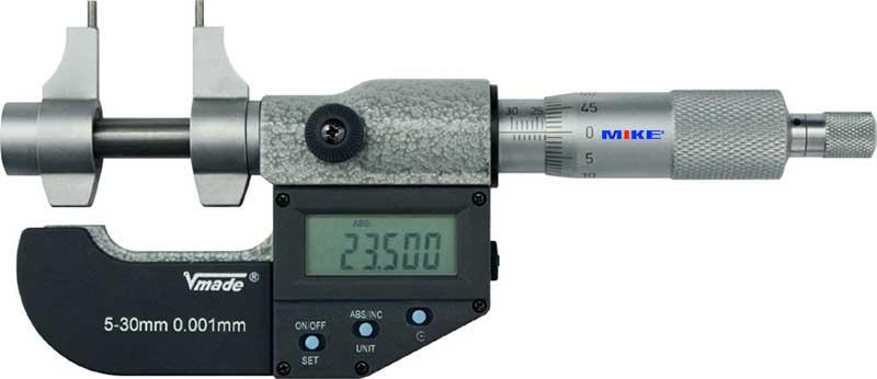 Panme điện tử đo trong 25-50mm. Digital Internal Micrometer. Vogel Germany.