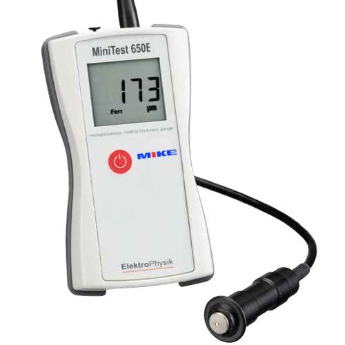 Máy đo độ dày lớp phủ MiniTest 650EF. Đo trên nền kim loại từ tính. ElektroPhysik.