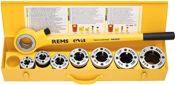 Tiện ren ống bằng tay REMS EVA.