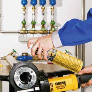 Máy tiện ren ống REMS