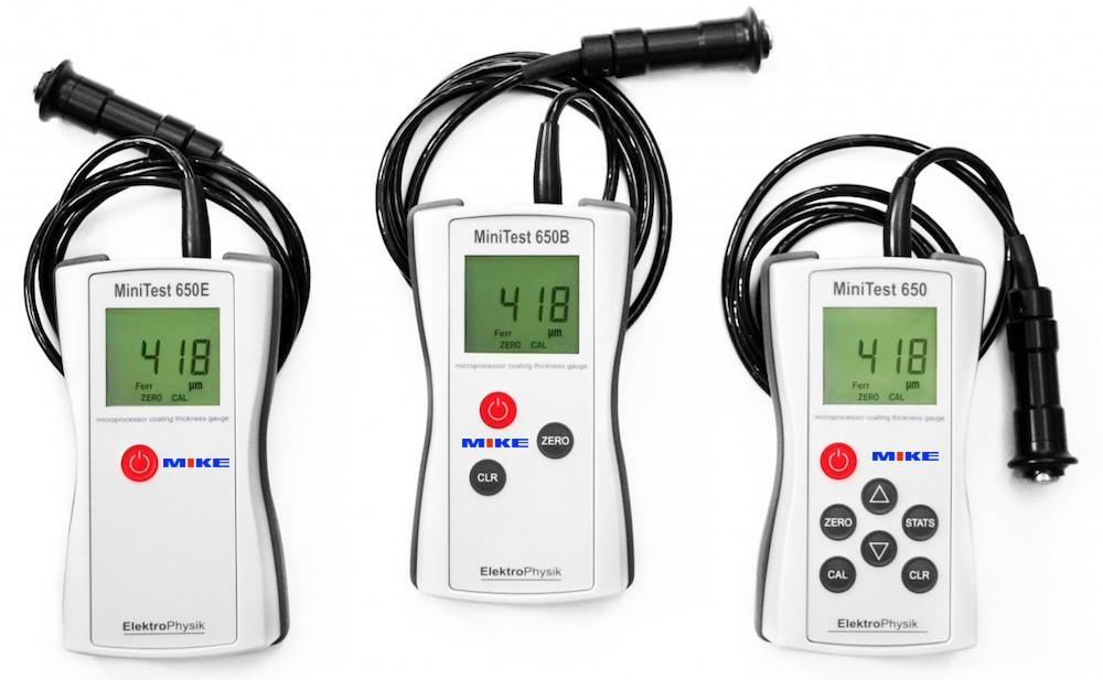 Máy đo độ dày lớp phủ MiniTest 650 Series - Coating Thickness Gauge.