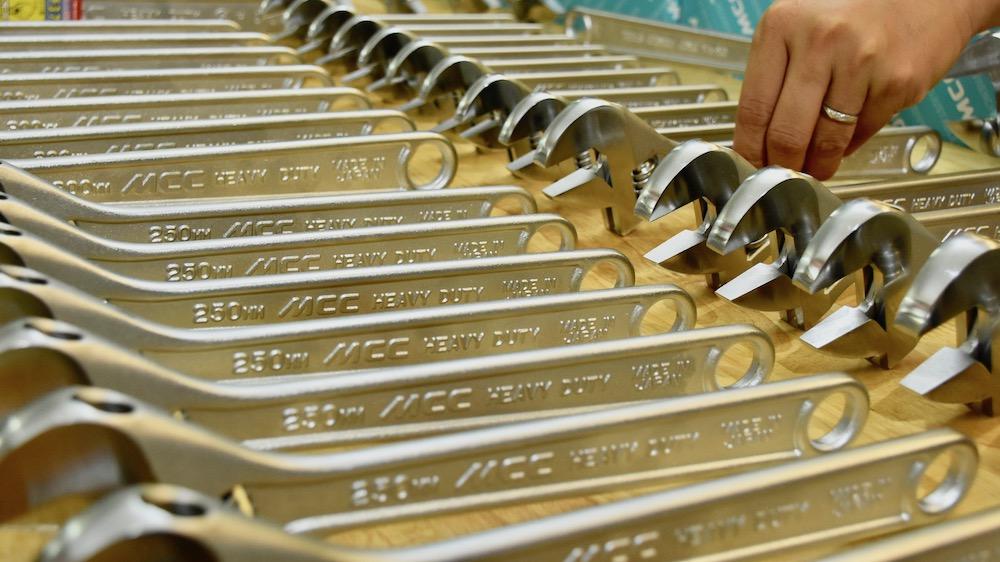 mỏ lết 10 inch, 250mm MCC Japan.