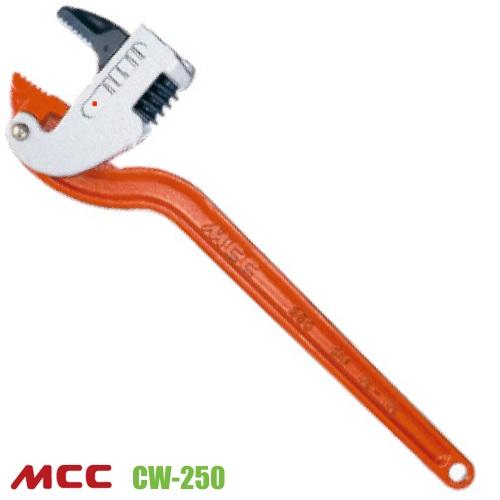 Mỏ lết góc CW250, độ mở ngàm 13-35mm, dài 250mm. MCC CW-250.