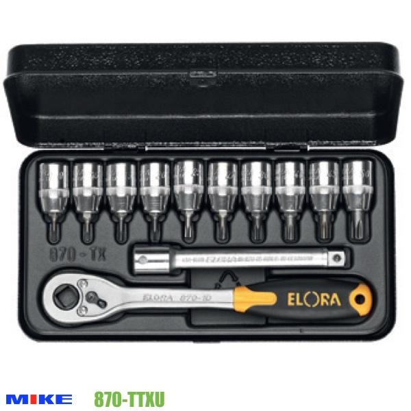 Bộ vít lục giác sao 870-TTXU, 12 món TTX9 - TTX50, cần tự động 870-1D.