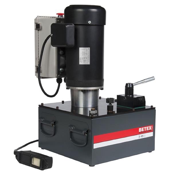 Bơm thủy lực dùng điện BETEX EP420D, 20 lít, áp suất max 700 bar.