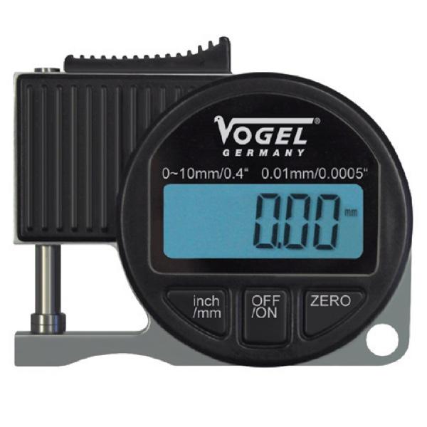 Đồng hồ đo độ dày điện tử 0 - 10mm, độ chính xác ±0.01mm