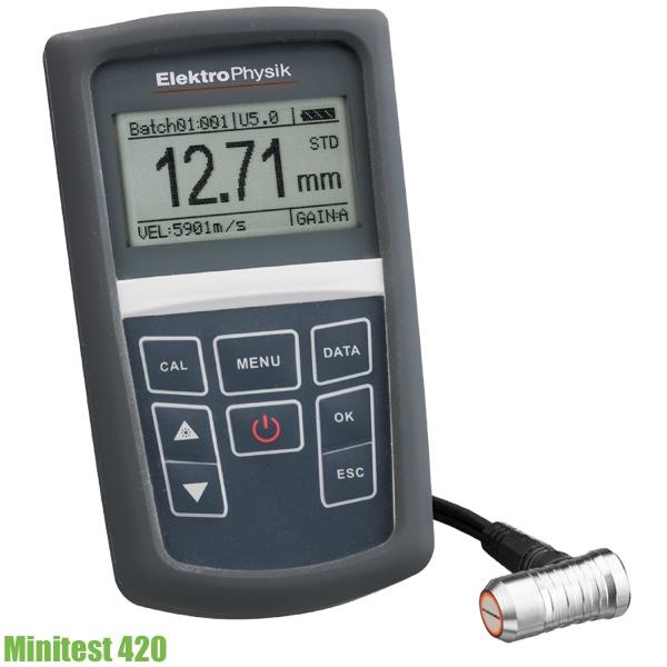 Máy siêu âm đo độ dày vật liệu MiniTest 420. ElektroPhysik Germany.
