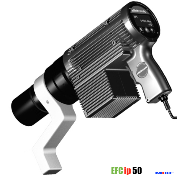 Cờ lê nhân lực EFCip50, máy xiết bulong chạy điện 300-1850 Nm. vuông 1 inch.