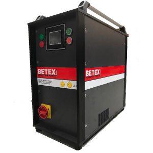 Máy gia nhiệt trung tần 22kW, phiên bản V2.5. Gia nhiệt bằng cuộn dây MF Quick Heater.