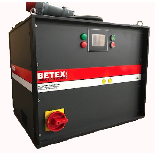 Máy gia nhiệt bằng cuộn dây 44kW, phiên bản V2.5. trung tần MF Quick Heater.